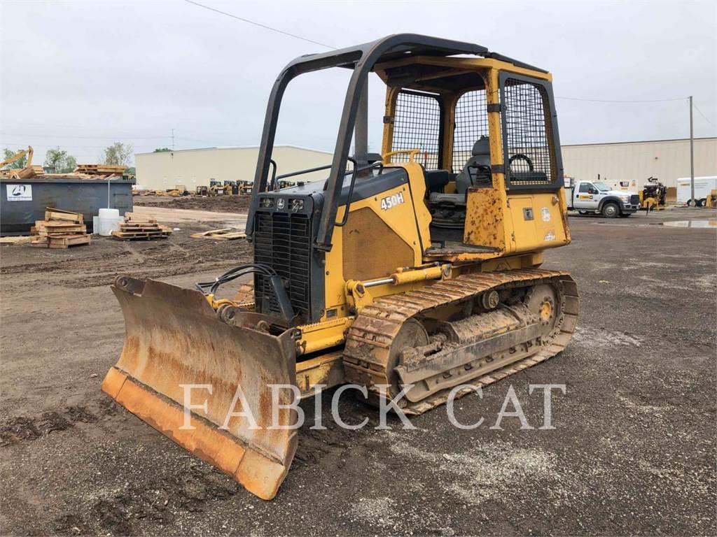 John Deere 450H XL, Spycharki, Sprzęt budowlany