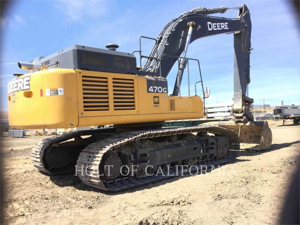 John Deere 470G LC, Crawler Excavators, Construction