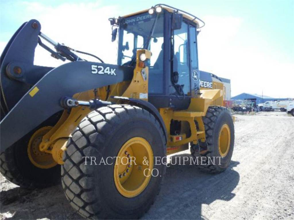 John Deere 524K, Wheel Loaders, Construction