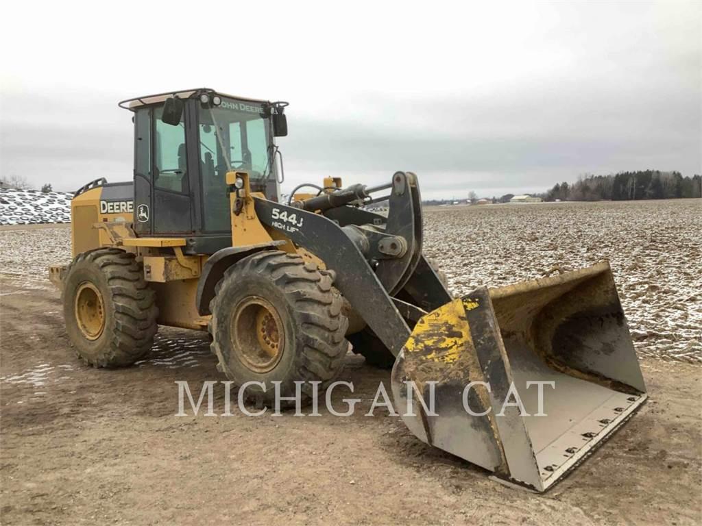 John Deere 544J, Wheel Loaders, Construction