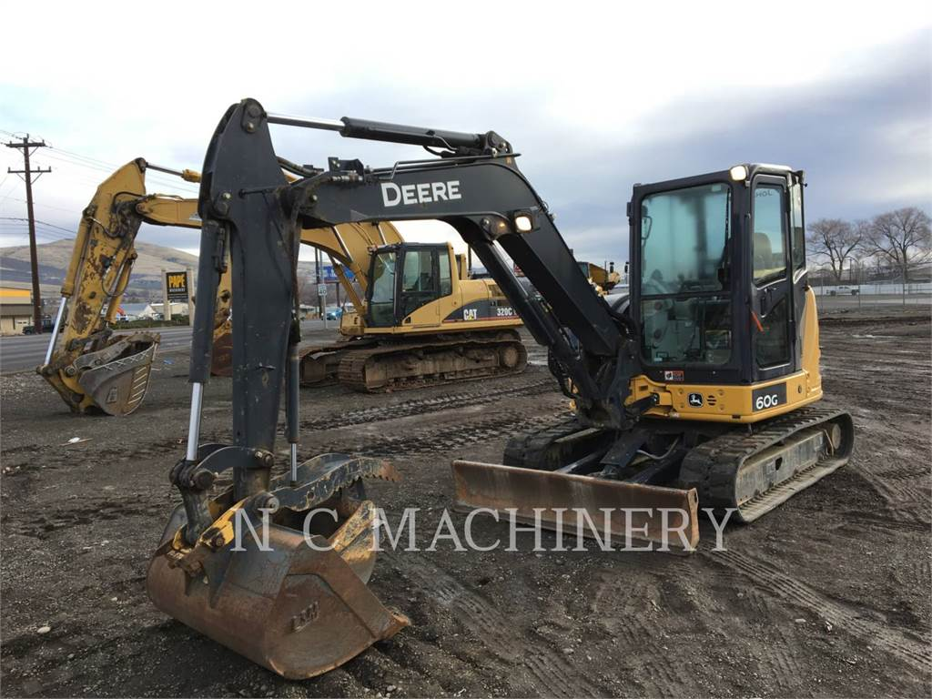John Deere 60G, Crawler Excavators, Construction