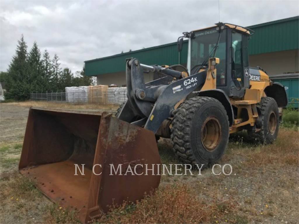 John Deere 624K, Wheel Loaders, Construction