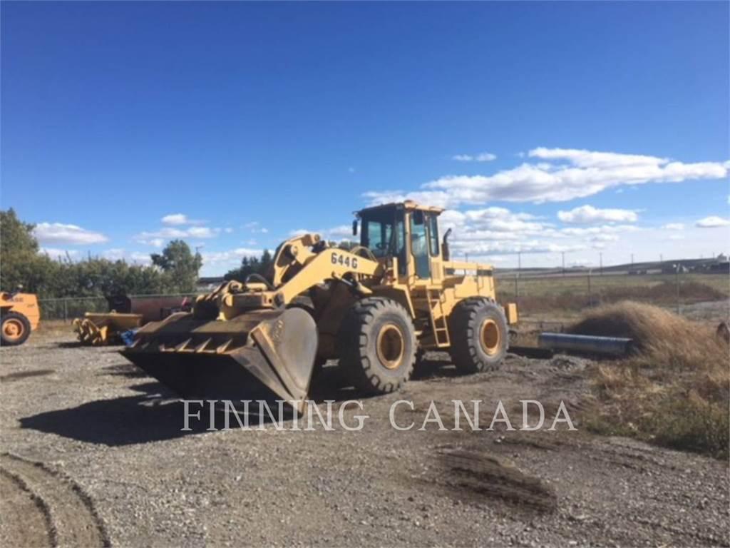 John Deere 644 G, Wheel Loaders, Construction