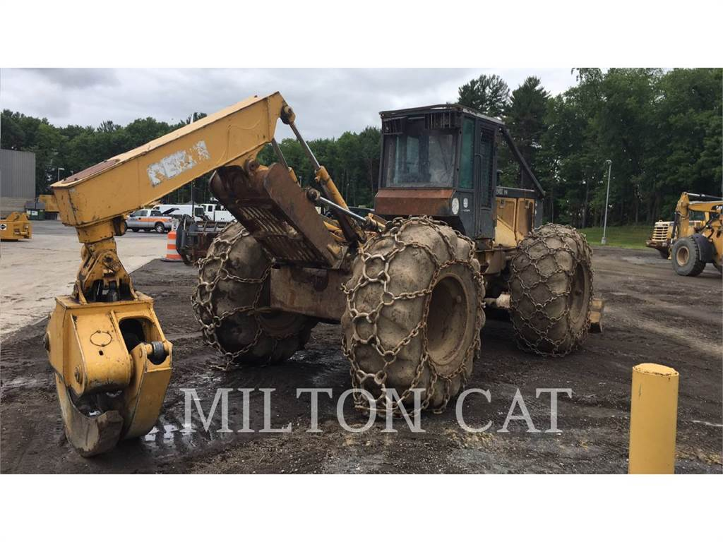 John Deere 648G, skidder, Forestry Equipment