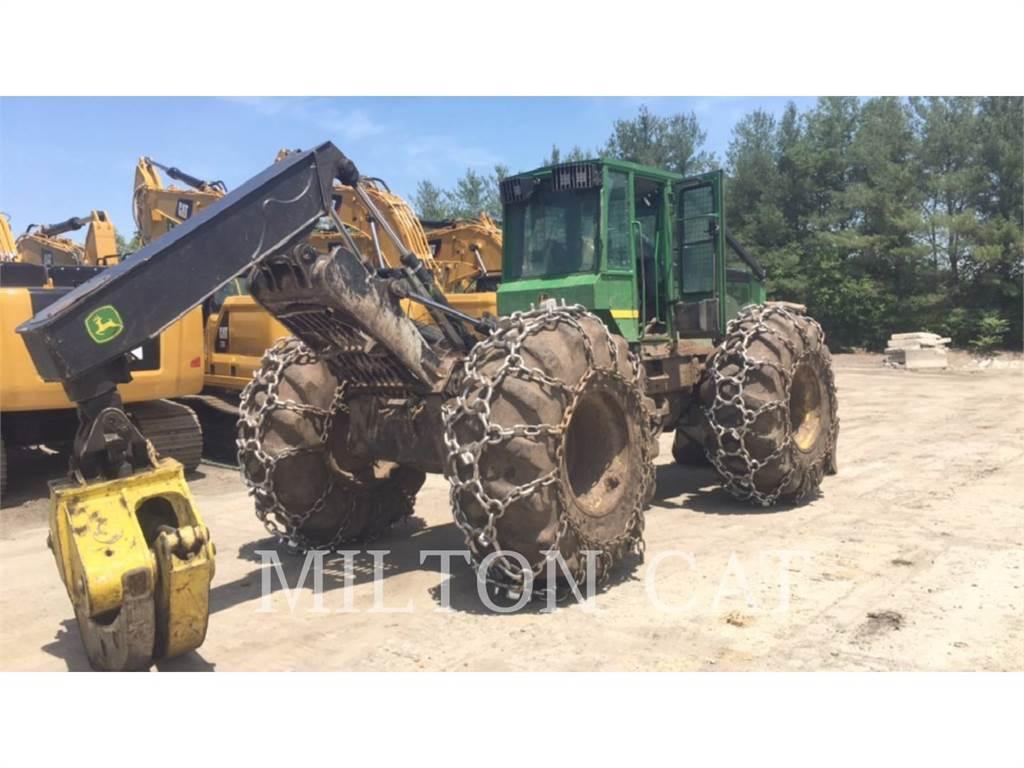 John Deere 648G, leśnictwo - skidery, Maszyny leśne