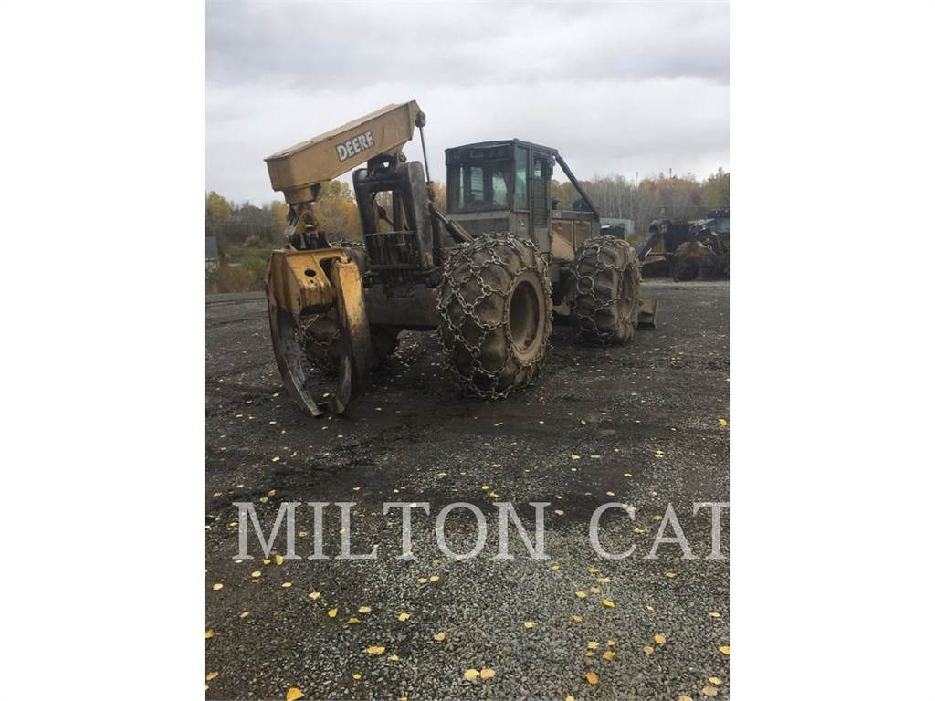 John Deere 648G III, skidder, Forestry Equipment