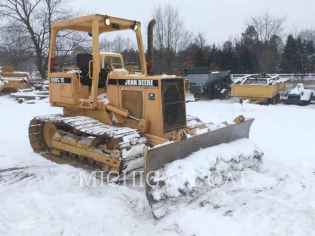 John Deere 650G, Dozers, Construction