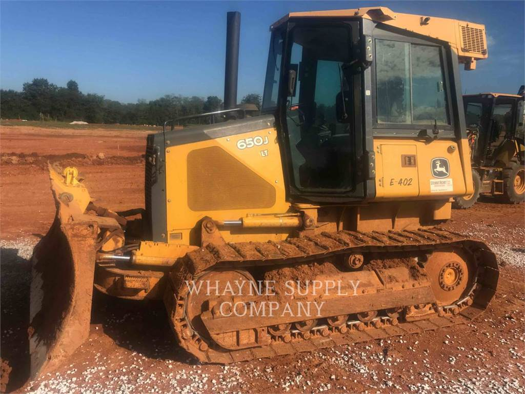 John Deere 650J LT, Bulldozers, Construcción