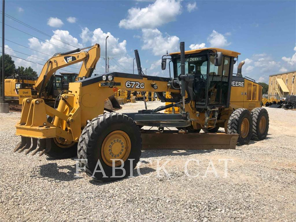 John Deere 672 G, motor graders, Construction