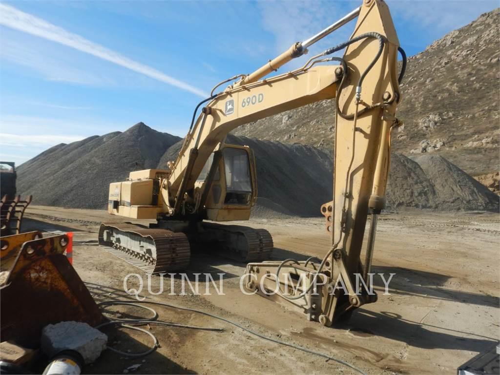 John Deere 690D, Pelle sur chenilles, Équipement De Construction