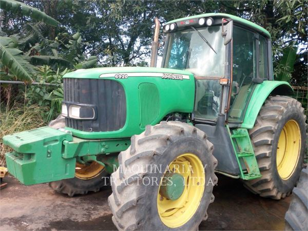 John Deere 6920, tracteurs agricoles, Agricole