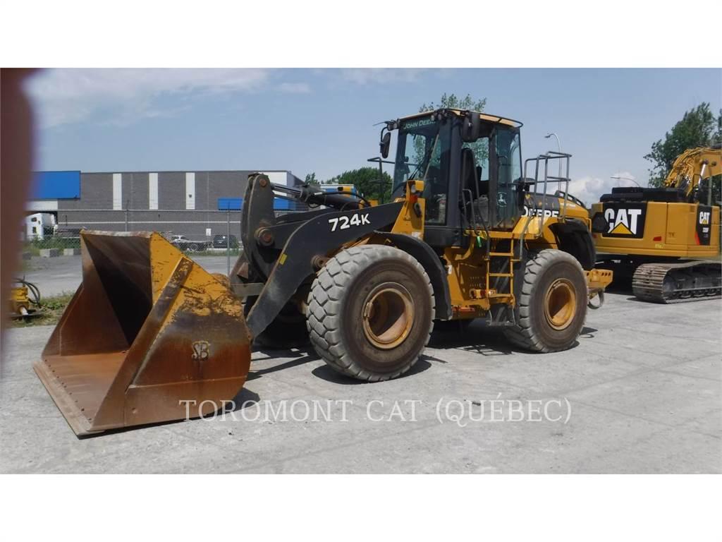 John Deere 724K, Wheel Loaders, Construction
