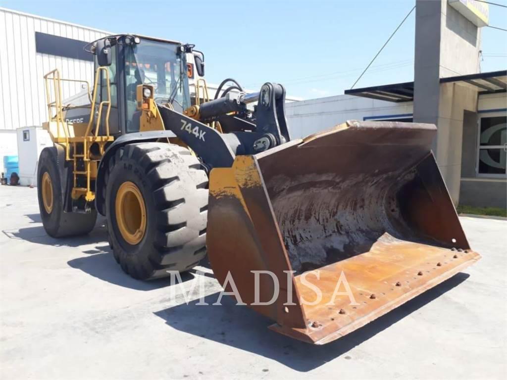 John Deere 744 J, Wheel Loaders, Construction