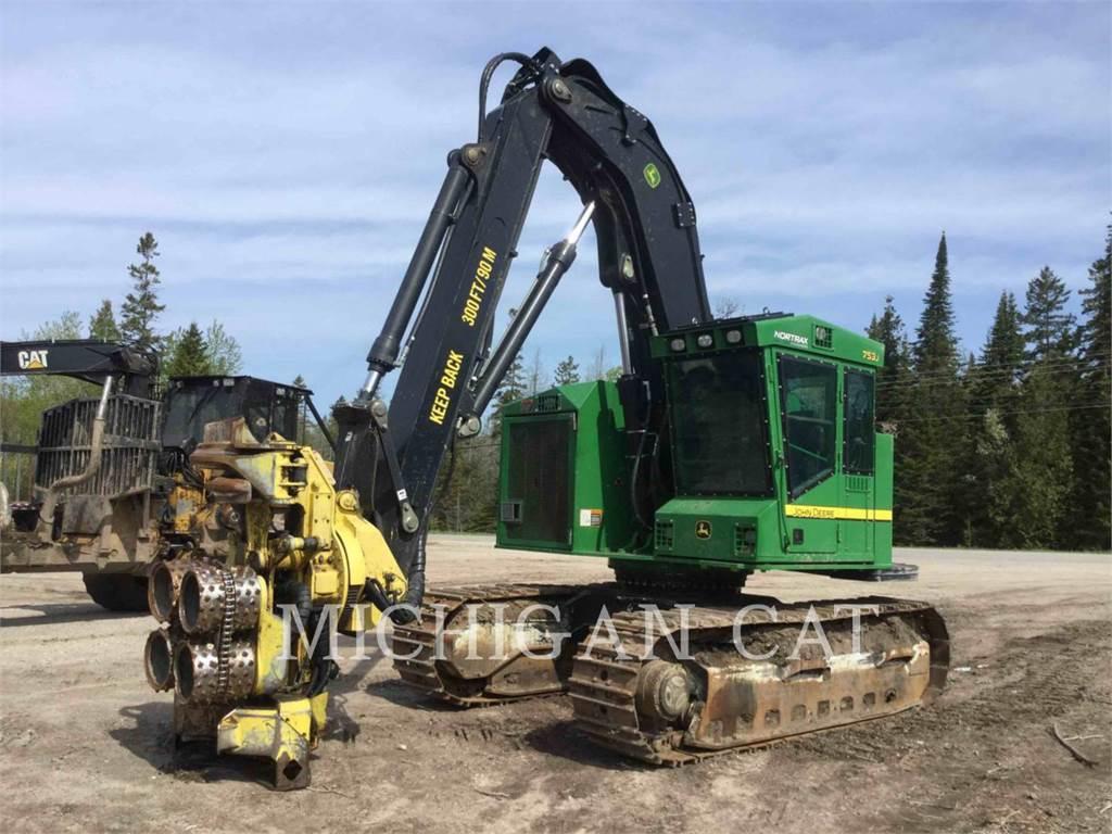 John Deere 753J, Forestry Excavators, Forestry Equipment