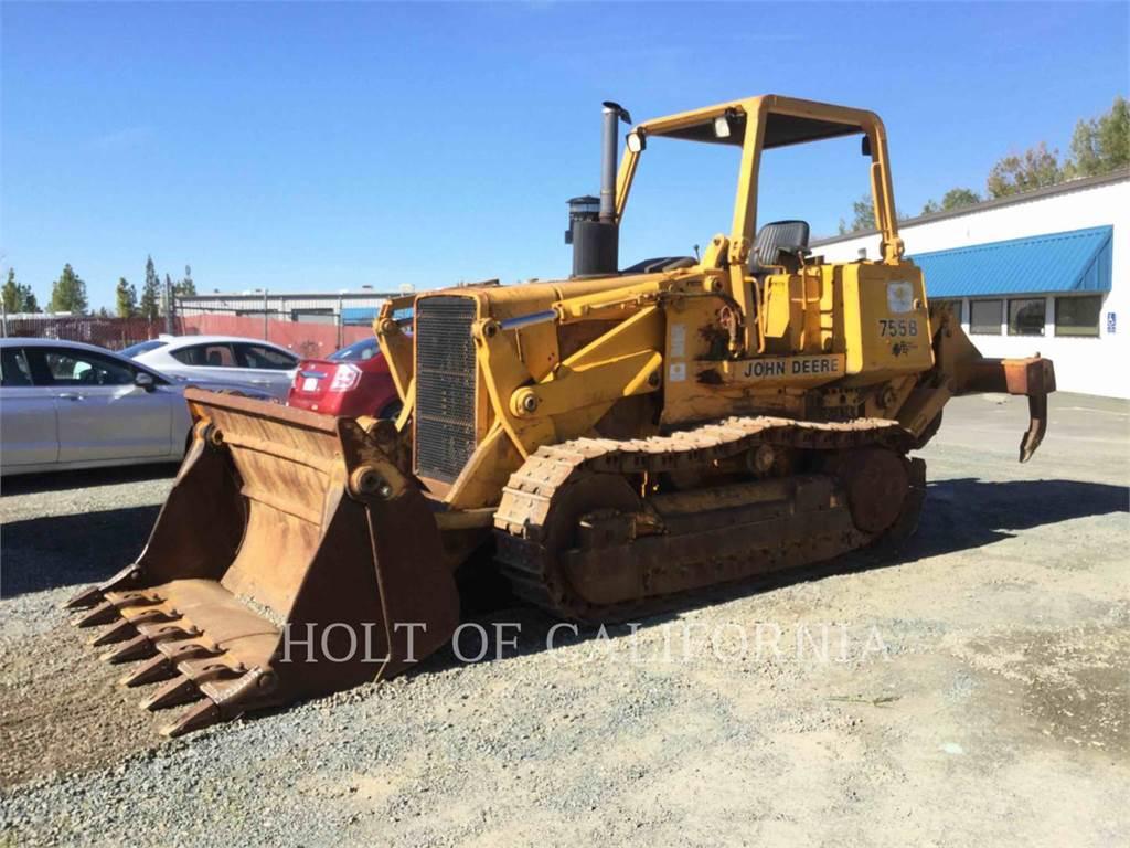 John Deere 755B, track loaders, Construction