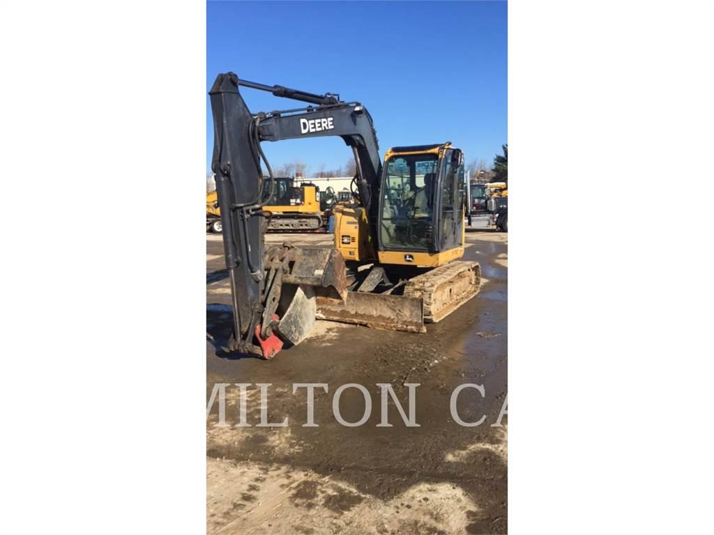 John Deere 75D, Crawler Excavators, Construction