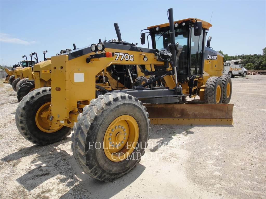 John Deere 770G, bergbau-motorgrader, Bau-Und Bergbauausrüstung