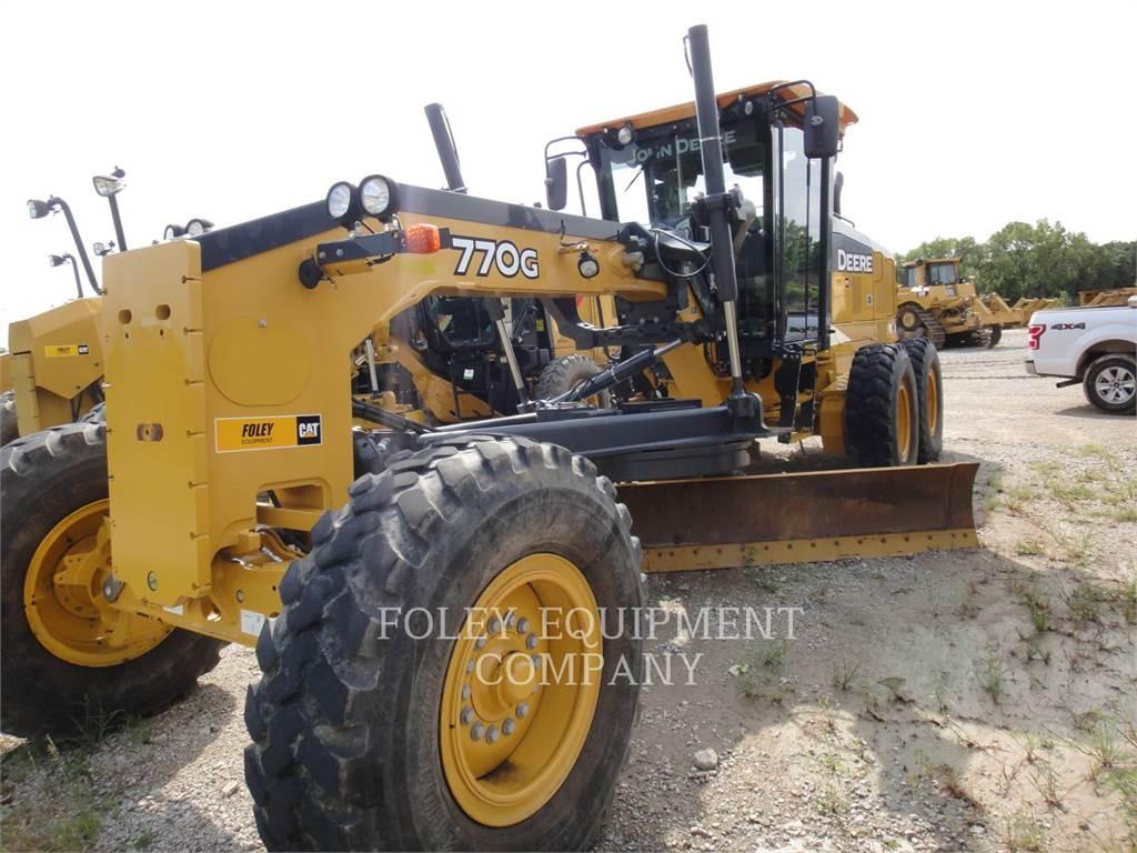 John Deere 770G, motor graders, Construction