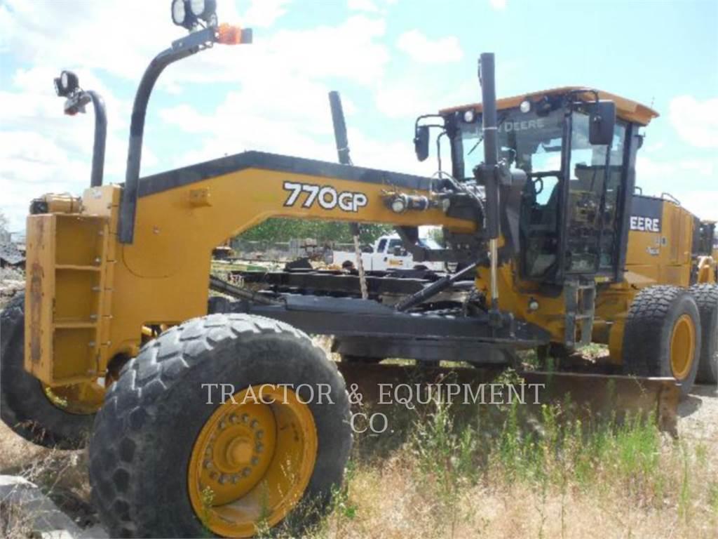 John Deere 770GP, bergbau-motorgrader, Bau-Und Bergbauausrüstung