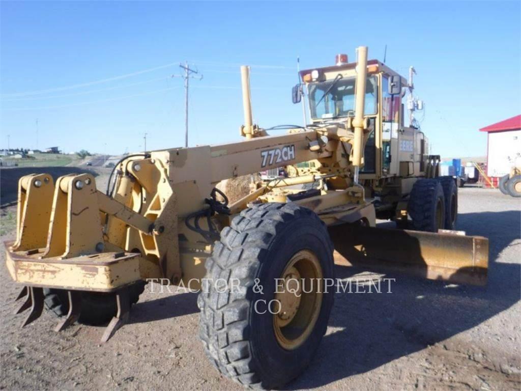 John Deere 772CH, motor graders, Construction