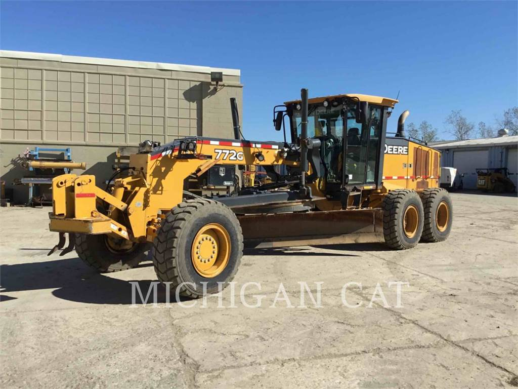 John Deere 772G, motor graders, Construction