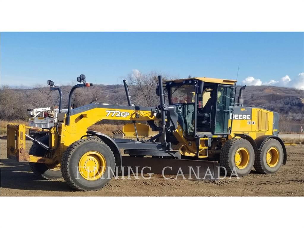 John Deere 772G, bergbau-motorgrader, Bau-Und Bergbauausrüstung