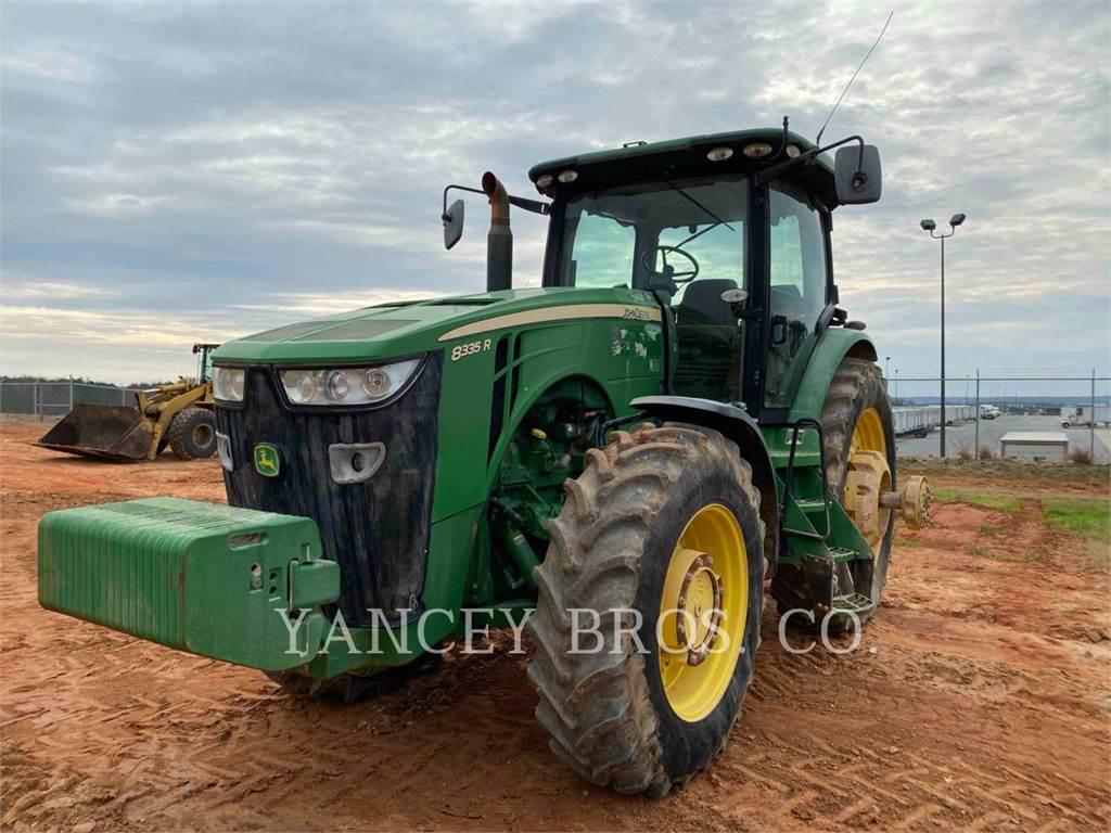 John Deere 8335R, tractors, Agriculture