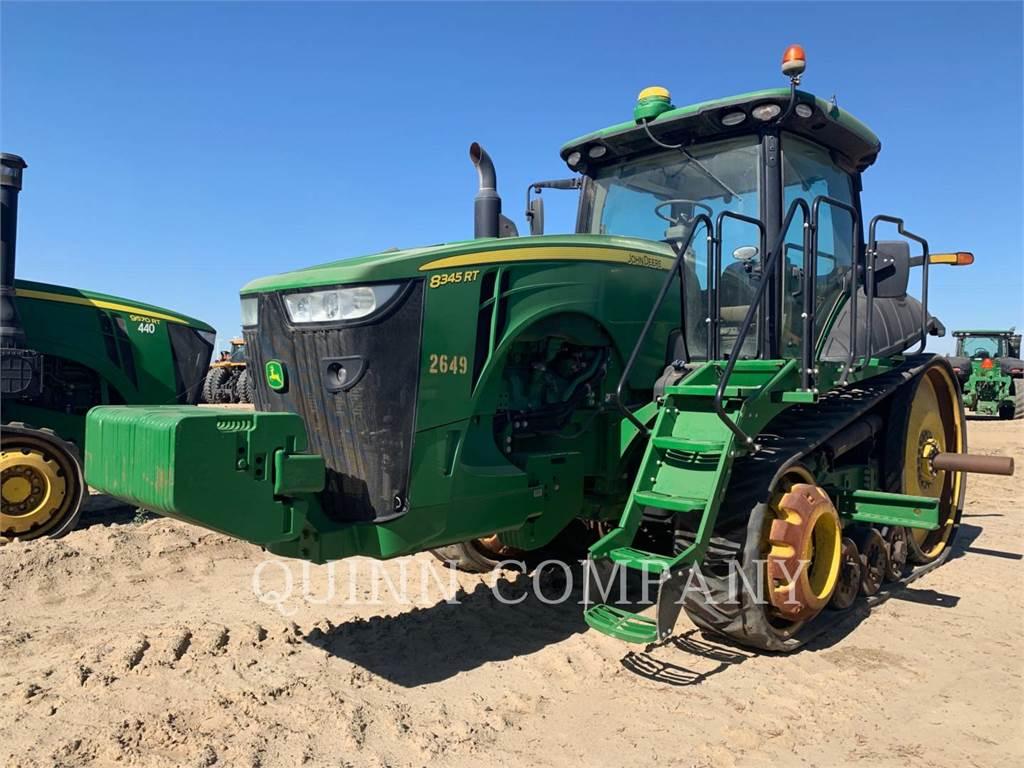 John Deere 8345RT, tractores agrícolas, Agricultura