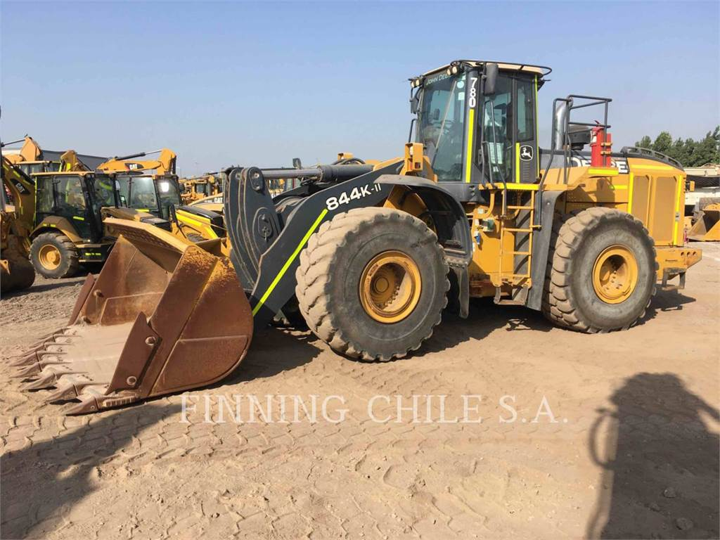 John Deere 844K, Wheel Loaders, Construction