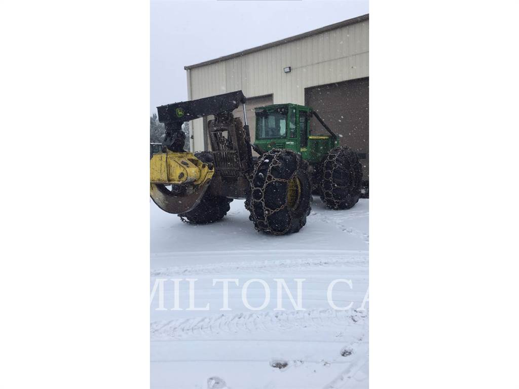John Deere 848H, skidder, Forestry Equipment
