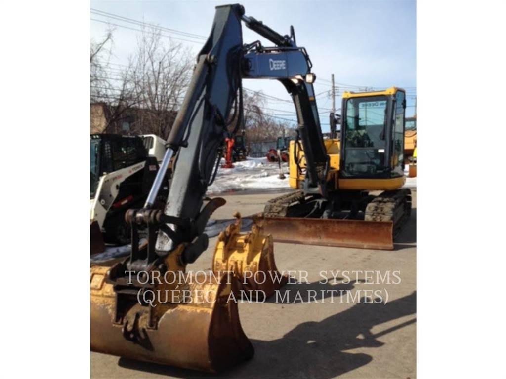 John Deere 85D, Excavadoras de cadenas, Construcción