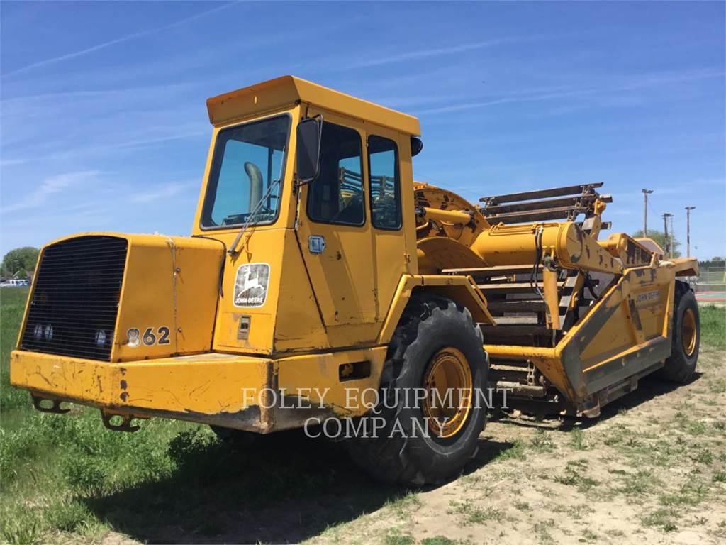 John Deere 862, Schaber, Bau-Und Bergbauausrüstung