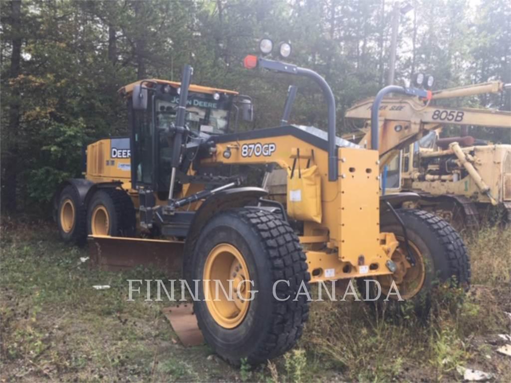 John Deere 870G, bergbau-motorgrader, Bau-Und Bergbauausrüstung