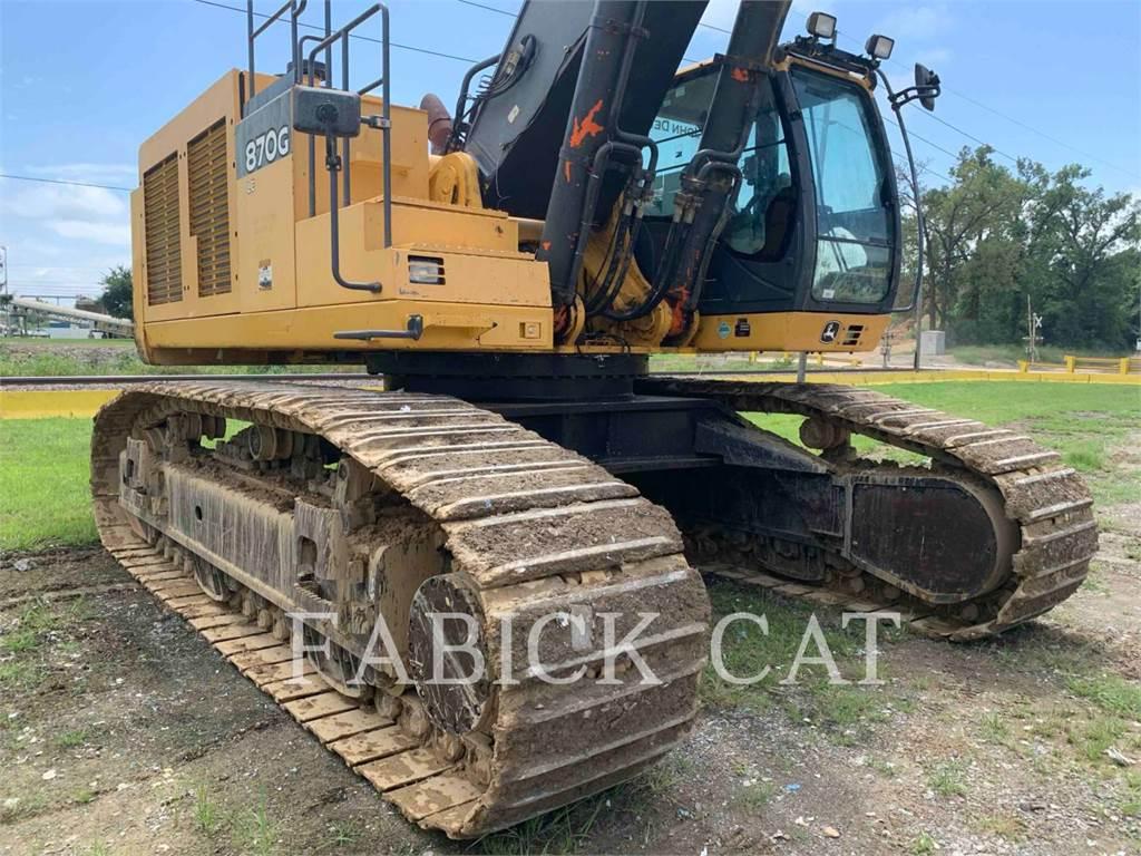 John Deere 870G, Crawler Excavators, Construction
