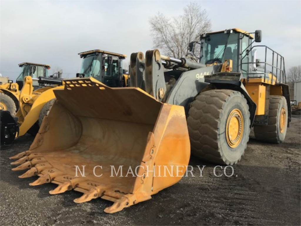 John Deere 944K, Wheel Loaders, Construction