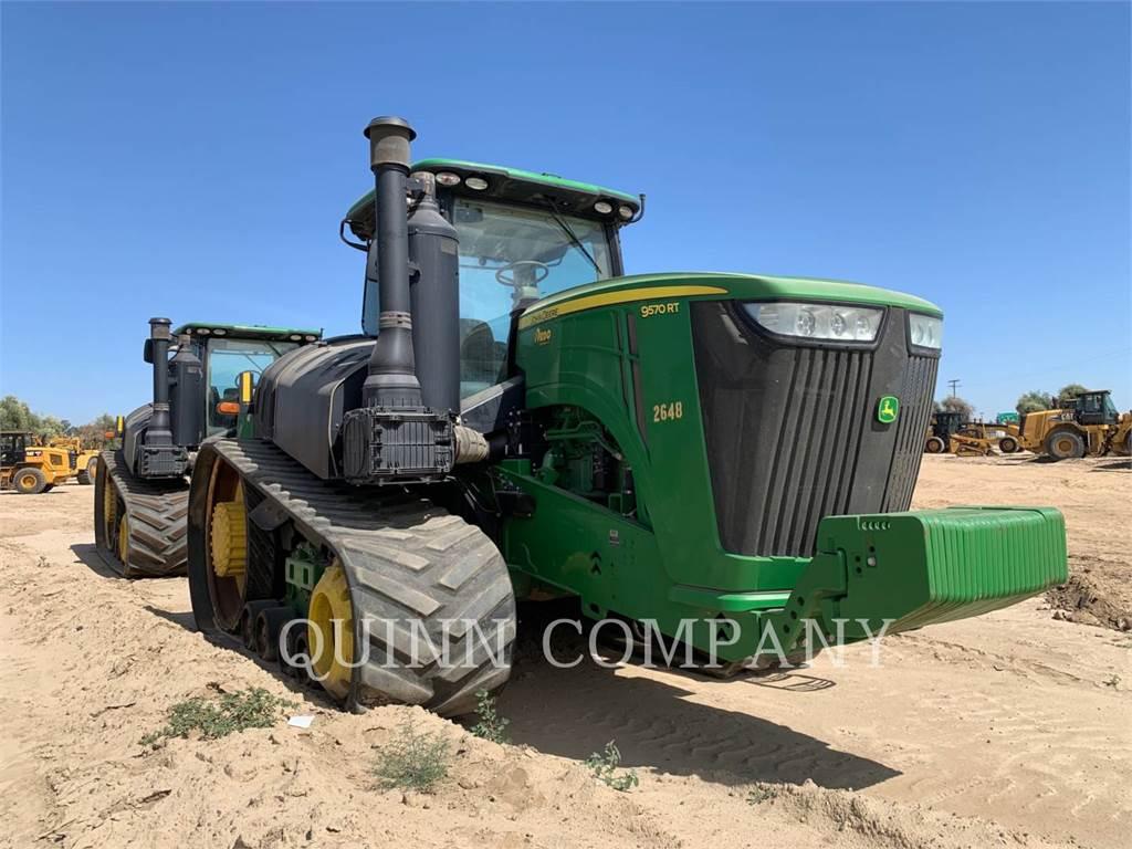 John Deere 9570RT, tractors, Agriculture