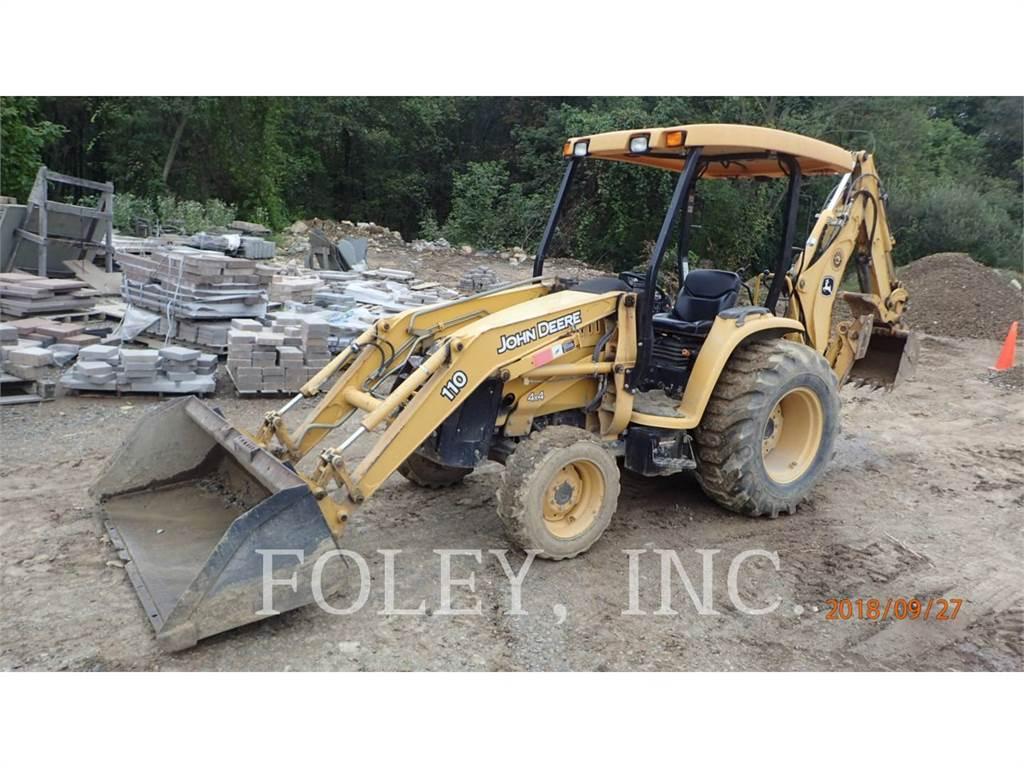 John Deere & CO. 110, chargeuses-pelleteuses, Équipement De Construction