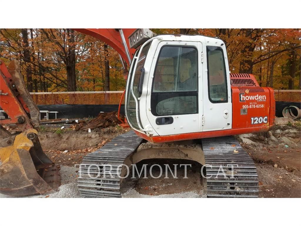 John Deere & CO. 120C, Crawler Excavators, Construction