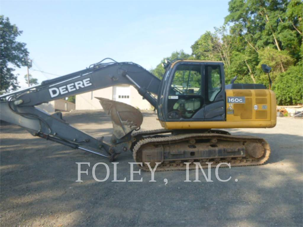 John Deere & CO. 160G, Pelle sur chenilles, Équipement De Construction
