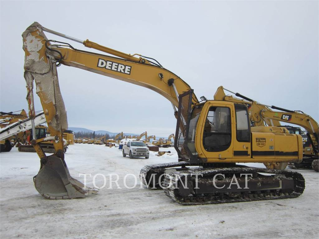 John Deere & CO. 200, Crawler Excavators, Construction