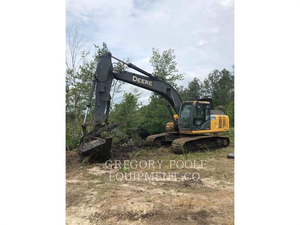 John Deere & CO. 210GLC, Crawler Excavators, Construction