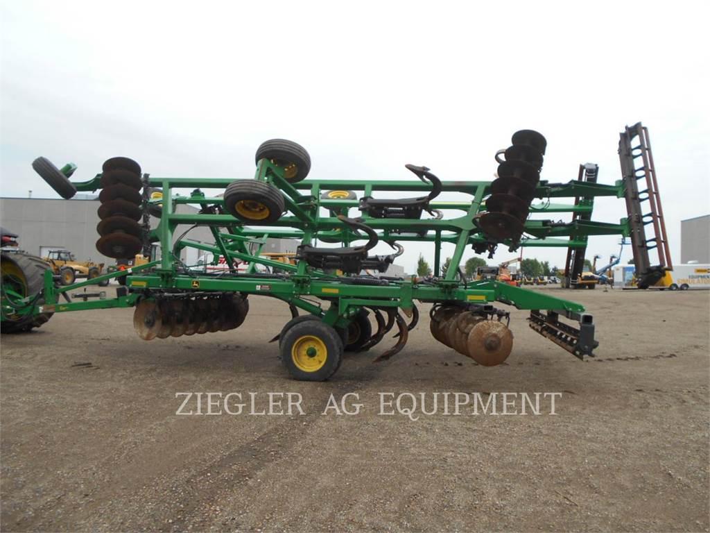 John Deere & CO. 2720, equipo de labranza agrícola, Agricultura