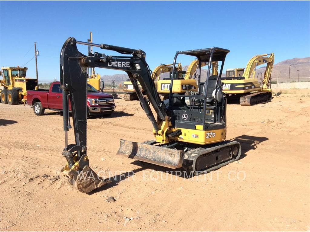 John Deere & CO. 27D, Crawler Excavators, Construction