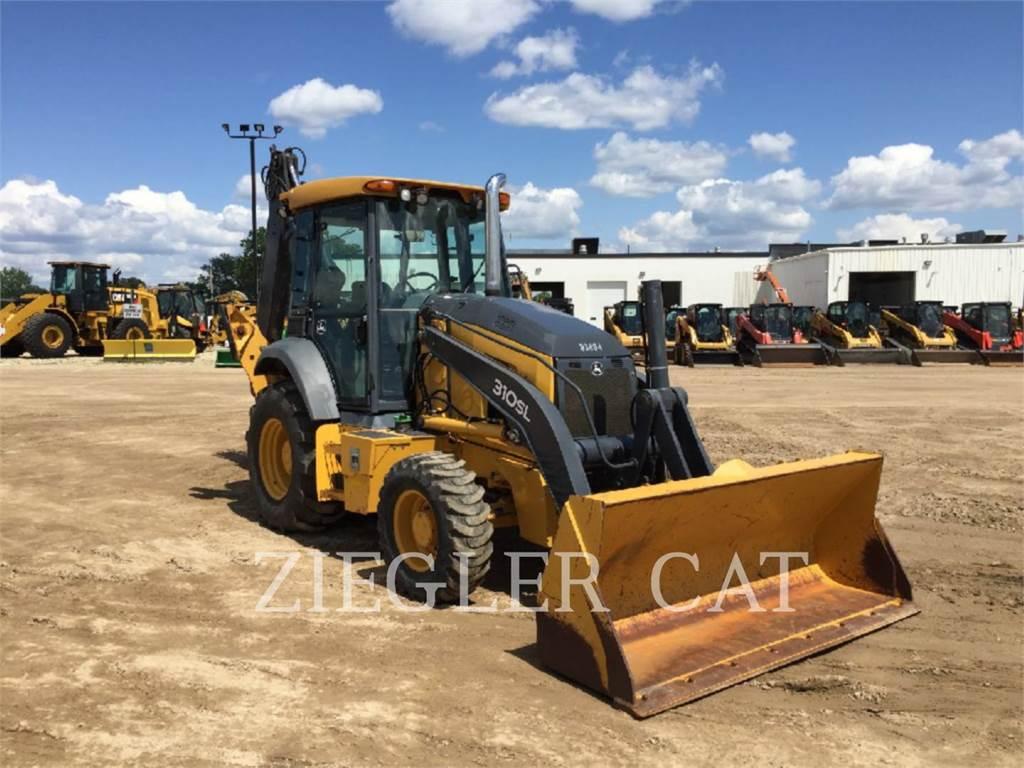 John Deere & CO. 310SL, chargeuses-pelleteuses, Équipement De Construction