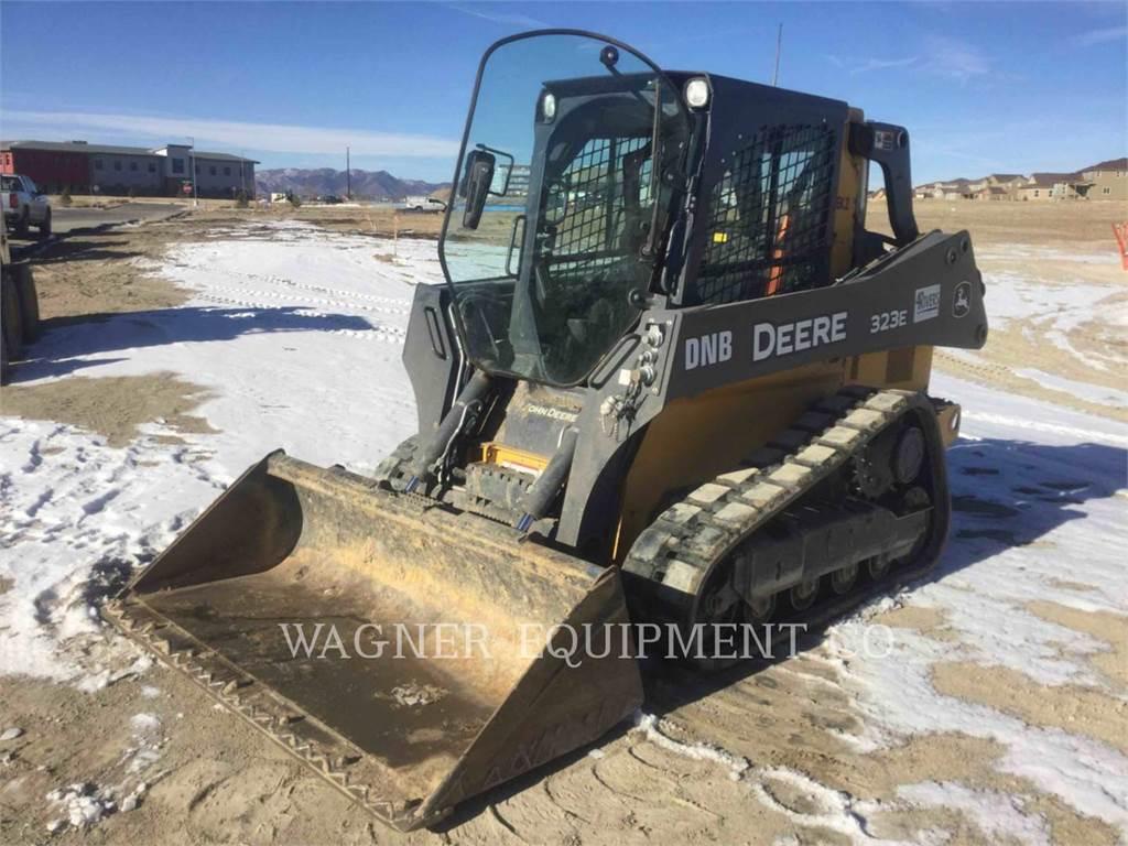 John Deere & CO. 323E, Chargeuse compacte, Équipement De Construction
