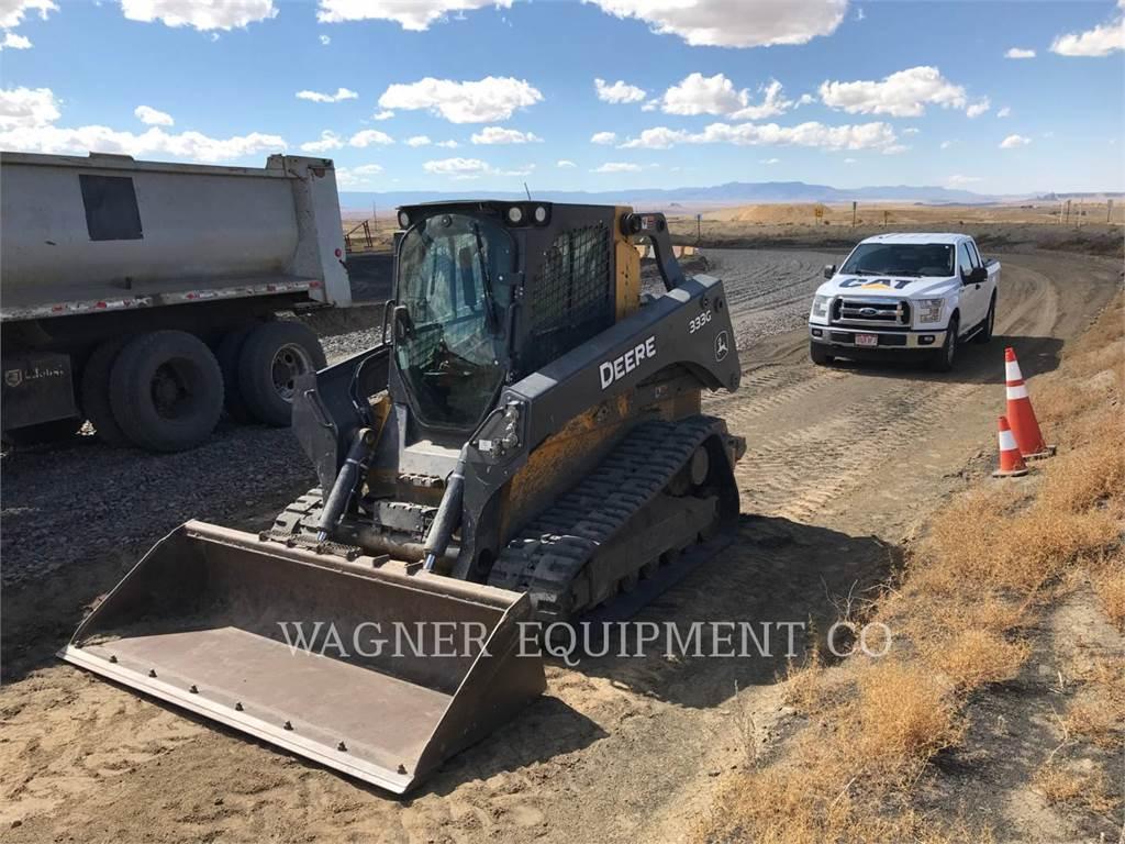John Deere & CO. 333G, Skid Steer Loaders, Construction