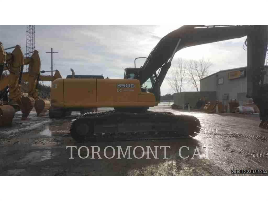 John Deere & CO. 350D, Crawler Excavators, Construction