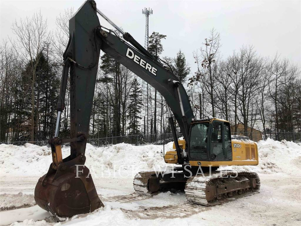 John Deere & CO. 350D, Koparki gąsienicowe, Sprzęt budowlany