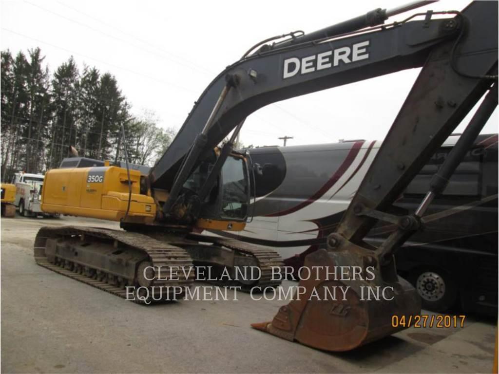 John Deere & CO. 350G, Crawler Excavators, Construction