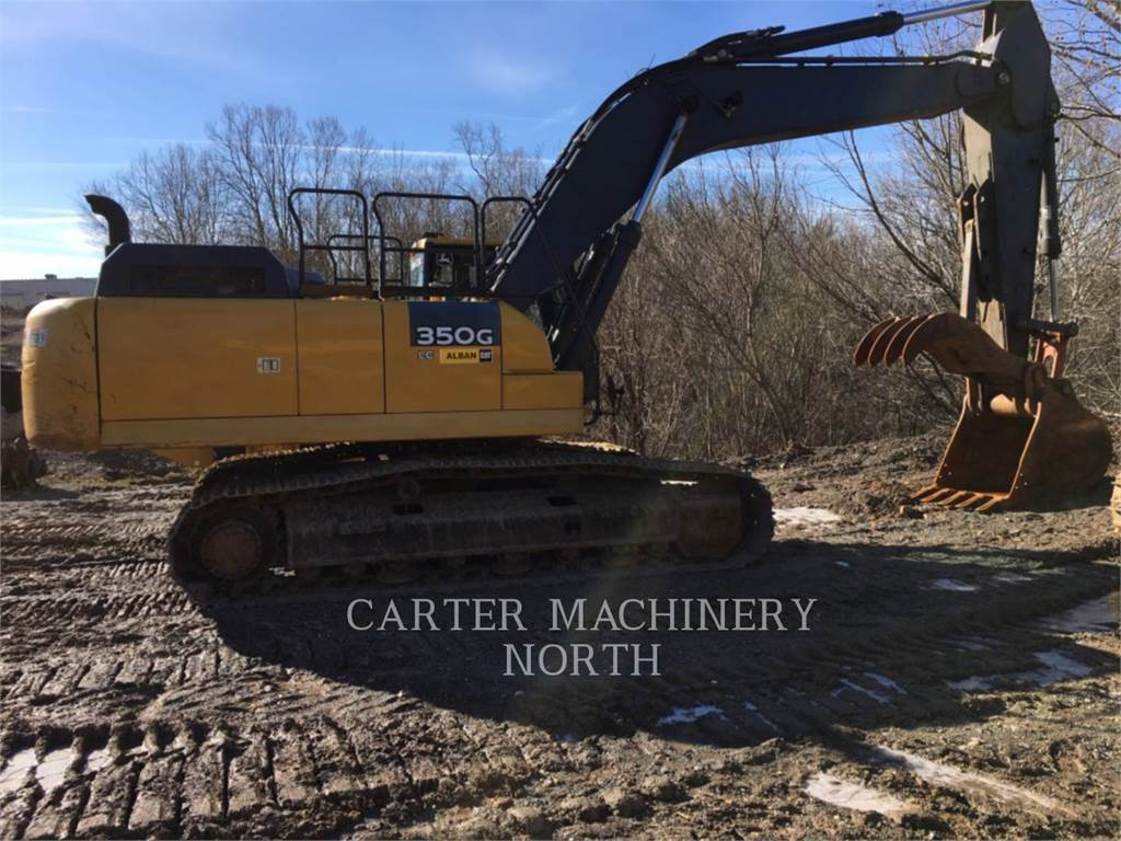 John Deere & CO. 350G, Crawler Excavators, Construction